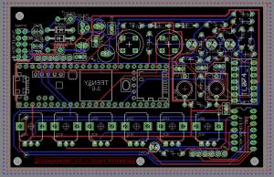 Glitch delay board layout